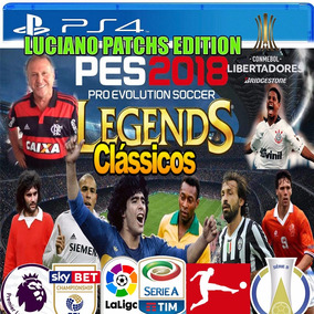 Patch Pes 2018 Dlc 3 Ps4 2500 Faces Legends Veja O Video