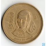 Paquete Con Dos Monedas De 1000 Pesos De 1989 Juana De A.