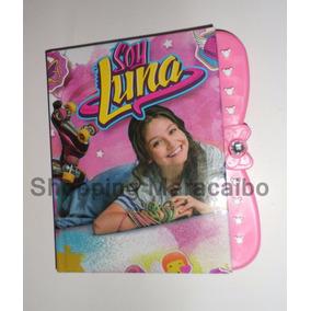 Diario Soy Luna Agenda Libreta C/codigo De Seguridad *tienda