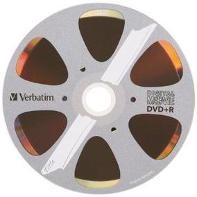 Dvd+r Verbatim Digital Movie 8x Torre C 10 Bulk 96857