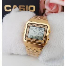 3bcbcfe6f02 Casio Word Time - Relógio Casio no Mercado Livre Brasil