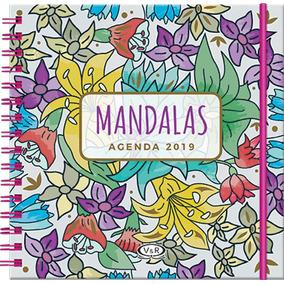 Agenda Mandalas 2019 - Violeta - V & R Editoras