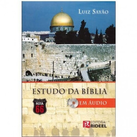 Bíblia De Estudo Em Áudio Comentada Luiz Sayão Rota 66