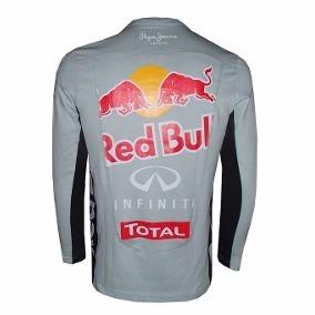 49e6001540684 Camisetas Da Red Bull Baratas Manga Longa Masculino - Camisas no ...