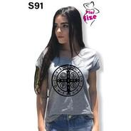 Blusas Femininas Plus Size Medalha São Bento S91