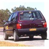 Calco Fiat Uno Luneta Trasera Motor Tipo 1.6