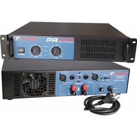Amplificador Potencia New Vox Pa 2400 - 1200 Watts Rms