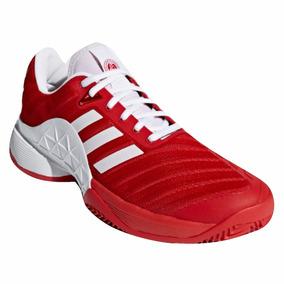 Tênis adidas Barricade Club Clay 2018 - Vermelho E Branco
