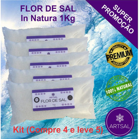 Flor De Sal Artsal (kit -5kg)