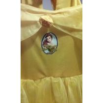 Disfraz De La Princesa Bella De Disney Talle 2 ( Nuevo)