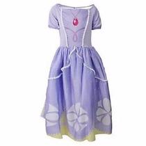 Disfraz De Princesa Sofia Vestido Disney Original