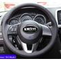 Funda Piel Volante A Medida Mazda Cx5, 2, 3,6,etc. Hilo Rojo