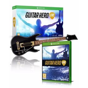 Guitar Hero Live Guitarra +juego Xbox One Nuevo