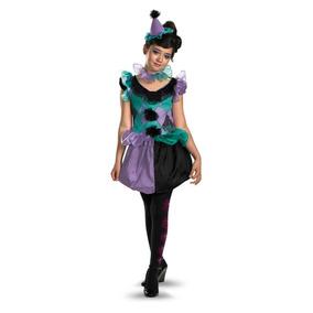 Disfraz Talla 7 A 8 Años Niña Payaso Payasita Vestido Traje