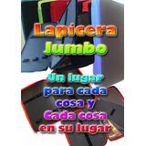 Estuche / Lapicera / Cartuchera Jumbo De Colores
