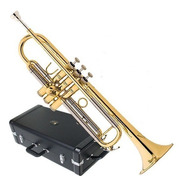 Trompete Eagle Sib Laqueado Com Estojo Tr504