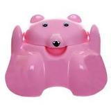 Troninho Urso Bebê Pinico Cajovil Azul - Verde - Lilas -rosa