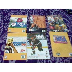 Instructivos De Juegos De Nintendo 64 N64