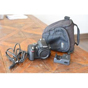 Cámara Nikon D3000 + Bolso + Lente Nikon Dx 35mm F/1.8