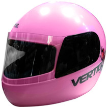 Casco Integral Junior Rosa Kids Niñas Vertigo - En Fas Motos