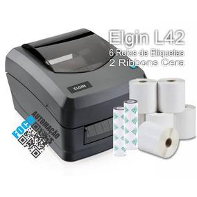 Impressora De Etiquetas E Código De Barras Elgin L42