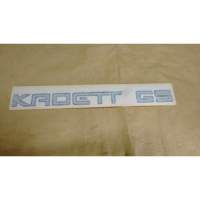 Adesivo Kadett Gs Original Gm T