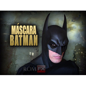 Máscara Batman Látex - R$270 Pausado