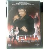 Dvd Puma O Guerreiro Das Ruas - Lacrado De Fábrica - Origina