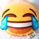 50 Almofadas Personalizadas Emojis - Brinde Etiqueta Cetim