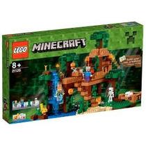 Lego Minecraft 21125: La Casa Del Árbol En La Jungla Nuevo