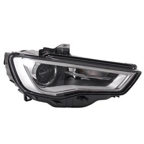Farol Principal Audi A3 13/ 3 E 5 Portas Máscara Negra