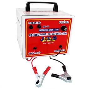 Carregador De Bateria 5 Amperes 12v Portátil Jts-016 J.t.s