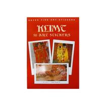 Livro Em Inglês - Klimt: 16 Art Stickers