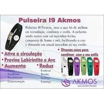 Pulseira Bracelete Akmos Pontos Magneticos E Terapeutica