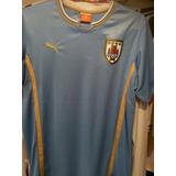 Camisa Futebol Seleção Uruguai 2014 Júnior