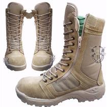 Bota Militar Khaki Tipo Swat Tactica Ligera Envio Gratis¡¡
