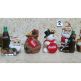 Coleccion Coca Cola Navidad Adornos,set N 2