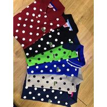 Camisa Polo Lacoste Bolinhas Importada Masculina Original