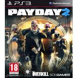 Payday 2 Ps3 Juego Digital