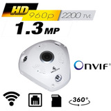 Cctv Camara Ip 360 Grados Wifi 1.3 Mp