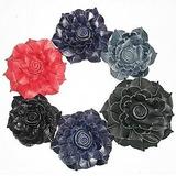 Flores De Cuero Apliques Para Calzado Carteras Ropa