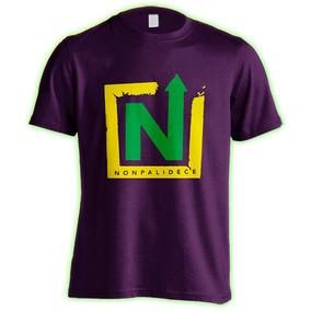Nonpalidece : Remera Premium + Pin : Logo 2 Colores