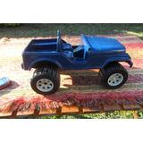 Antiguo Jeep Plaf Caucho Lindo Color Y Brillo, No Duravit