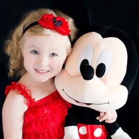 Bandta Diadema Moño Niña Bebe Mickey Mouse