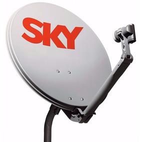 Antena Satelite Banda Ku Sky 60cm