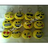 Lote D 12 Llaveros Emojis Emoticones App. Envio Gratis !!!
