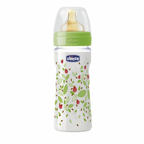 Mamadeira Fisiologica Well Being Pp 250ml (2m+) Latex Chicco