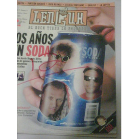 Soda Stereo En Revista Lengua Portada Y Reportaje 2002