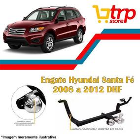 Engate Reboque Dhf Hyundai Santa Fé 08 09 10 11 12 Inmetro