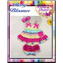 Baby Bloomers Colors - Vestiditos Con Calzoncito Niñas